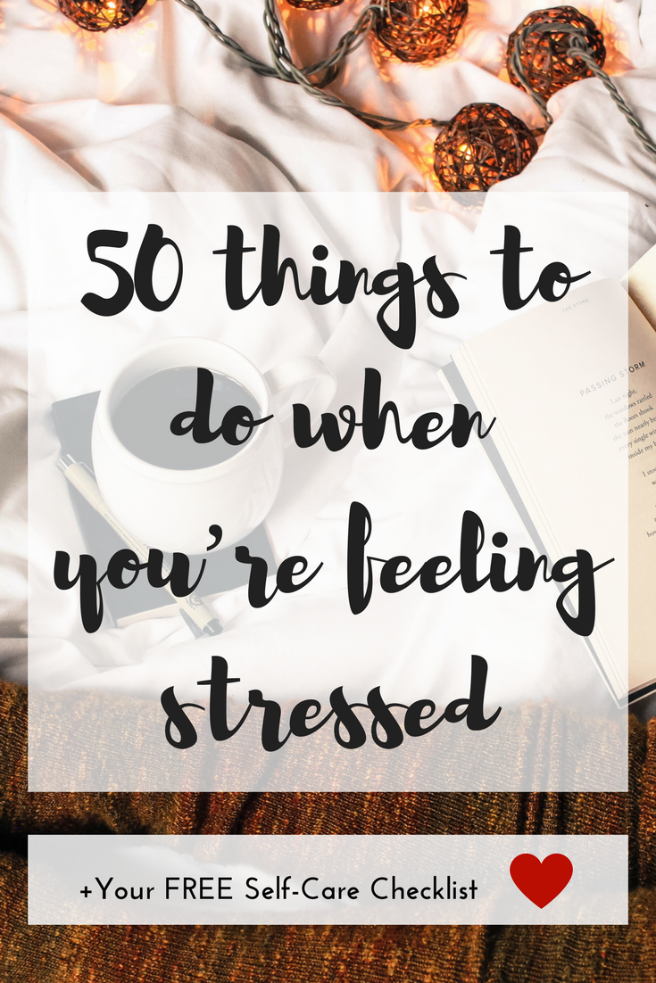 Learn what it takes to make self-care a priority, and use these 50 ideas to get your ultimate self-love and de-stressing practice started.