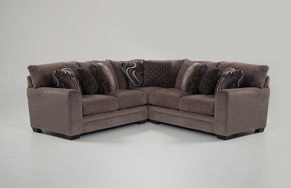 Luxe 3 Piece Sectional Family Room 3 Piece Sectional Bobs