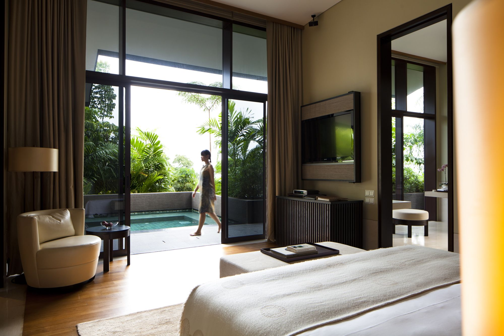 One Bedroom Villa At Capella Singapore #Plunge #Pool #Villas #Luxury
