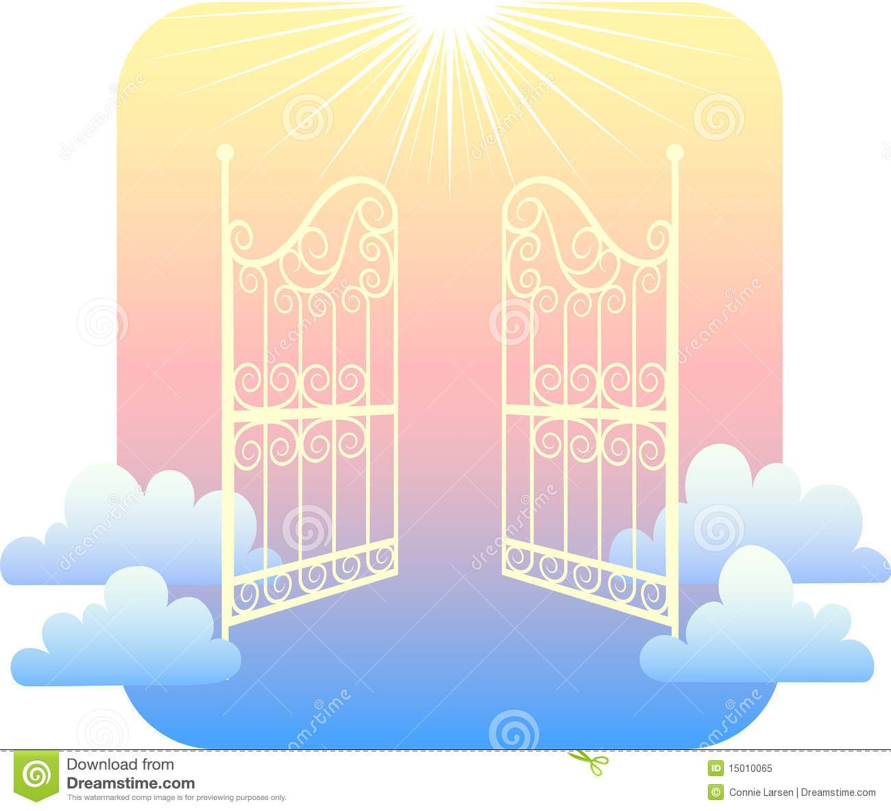 hight resolution of gates of heaven clipart images pictures becuo