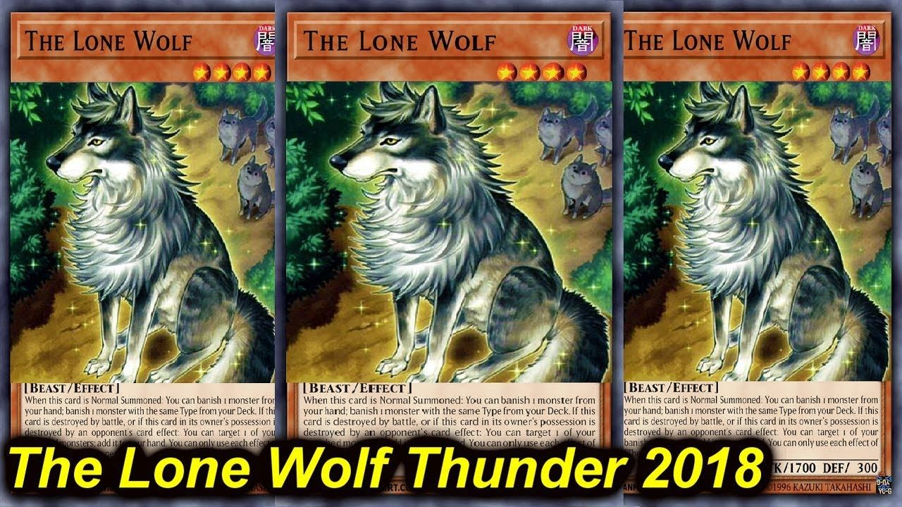 YGOPRO】THE LONE WOLF THUNDER DRAGON 2018 | Duel Monsters