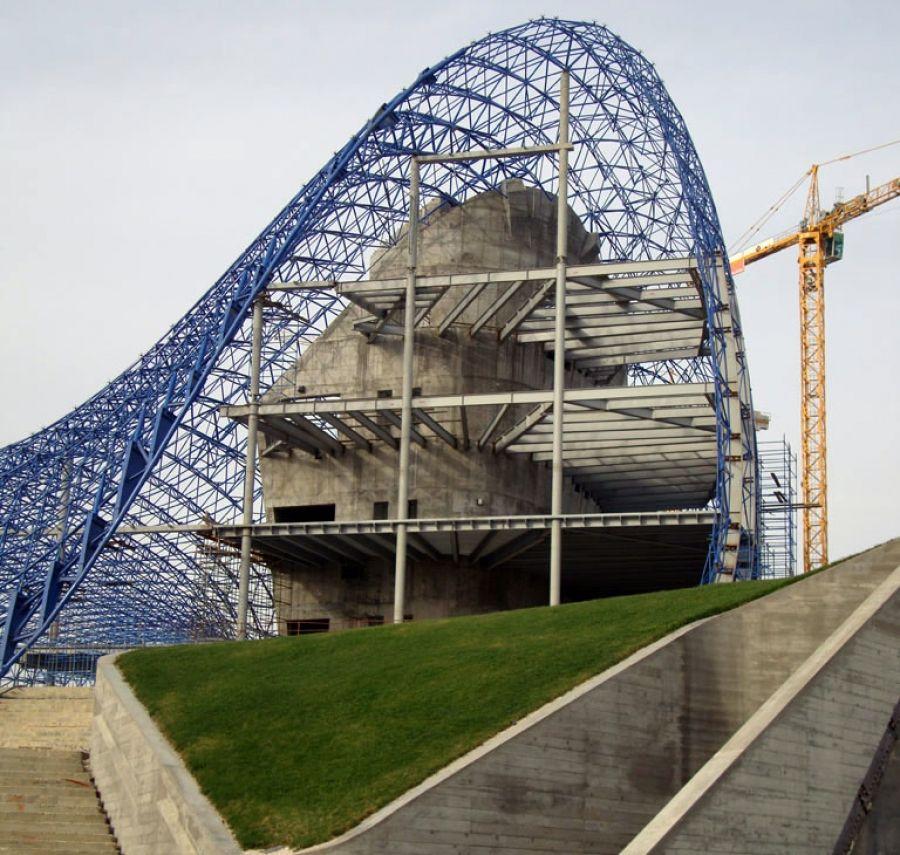 Zaha Hadidu0027s Heydar Aliyev Cultural Centre: Turning A Vision Into Reality