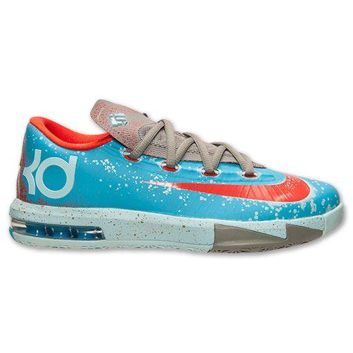 Boys  Grade School Nike KD 6 Basketball Shoes - 599477 400  35c0c4bb1441