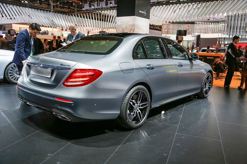 2017 Mercedes Benz E Cl Right Side View