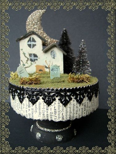 Haunted Cottage Cupcake Kit | by Brandywineboutique