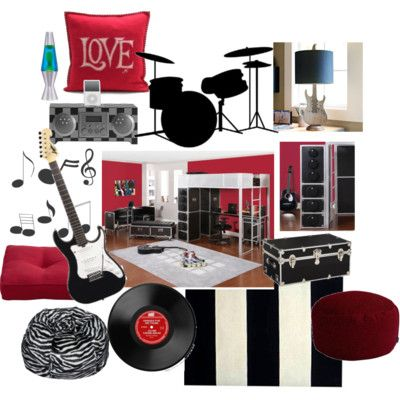 rock and roll themed bedroom this is really brilliant tastefully done love it also rh pinterest
