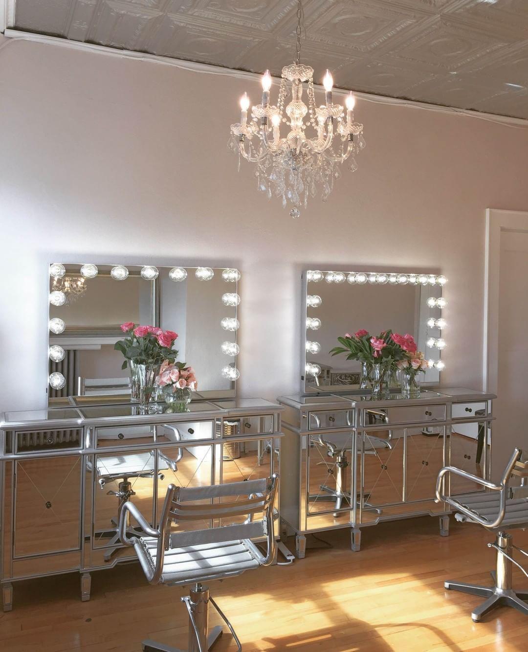 Hollywood Glow Pro Vanity Mirror Impressions Vanity Co Makeup Studio Decor Beauty Salon Decor Makeup Room Design