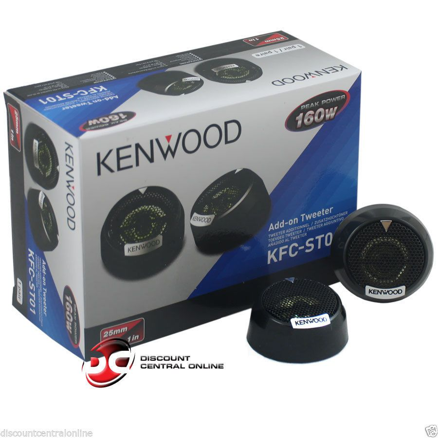 Car Speakers and Speaker Systems: Kenwood Kfc-St01 1 1-Inch 4-Ohm ...