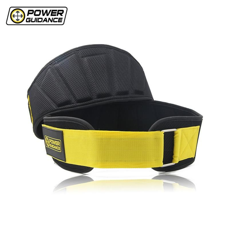 Nylon Weightlifting Lumbar Waist Support Belts For Weight Lifting