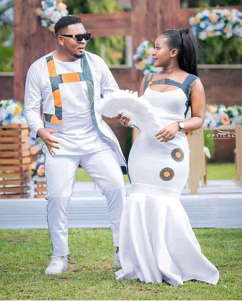 Couple/'s matching outfitsAfrican couple/'s outfitCouple/'s wedding dressAfrican family outfit