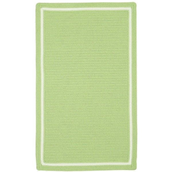 Juno Rectangular Braided Outdoor Rug Liked On Polyvore Featuring Home Rugs Bright Colored