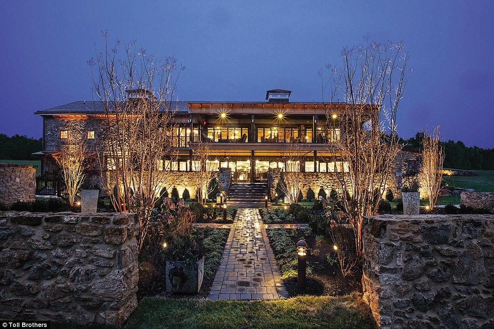 John du Pont's estate in Newtown Square, PA, has been transformed into a luxury complex. P...