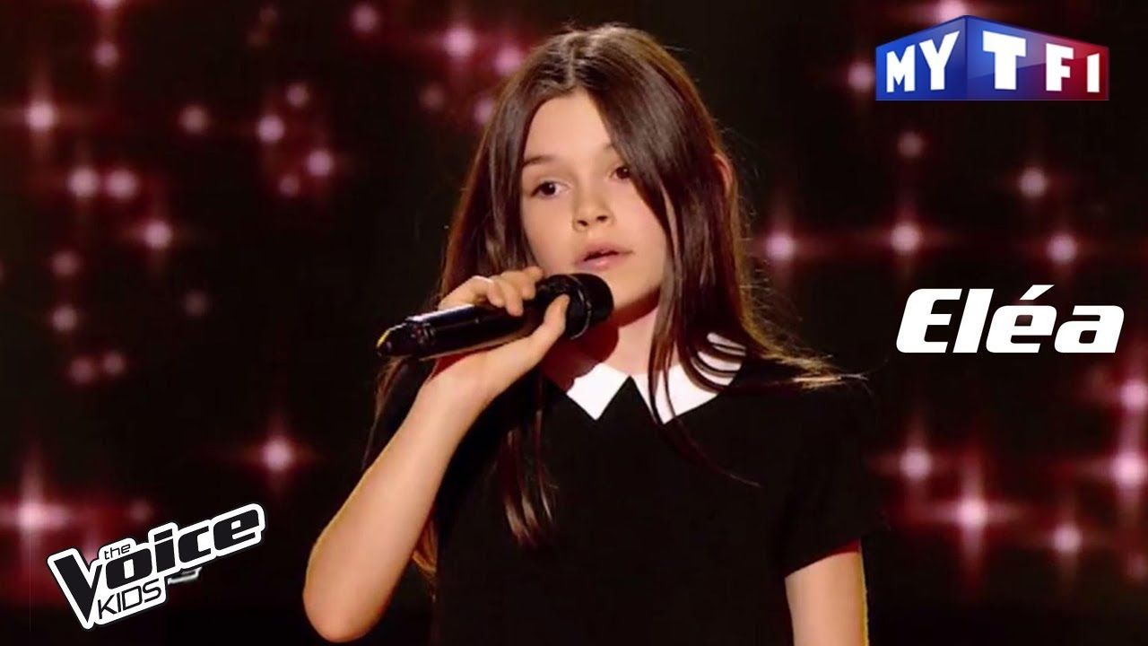 Eléa Les Moulins De Mon Cœur Michel Legrand The Voice Kids Franc