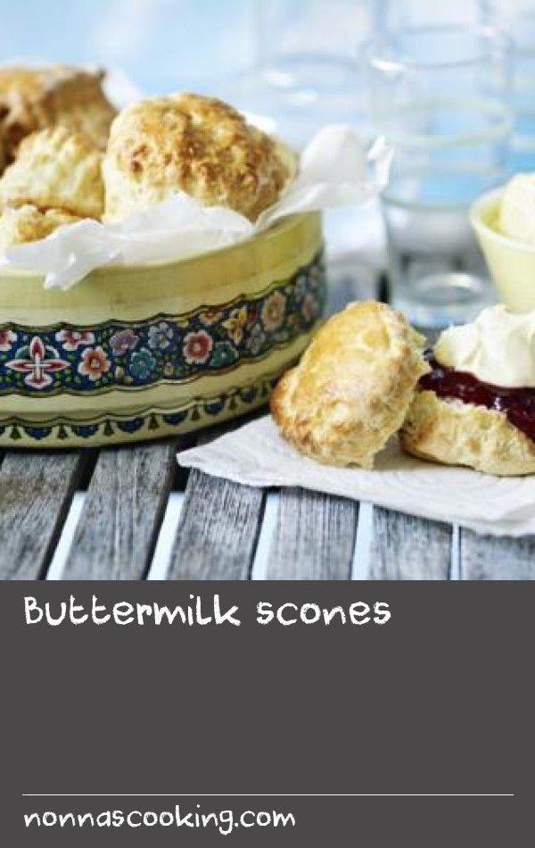 Buttermilk Scones Recipe Buttermilk Scone Recipe Scone Recipe Food