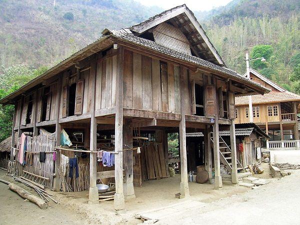 maisons sur pilotis au vietnam plans Pinterest