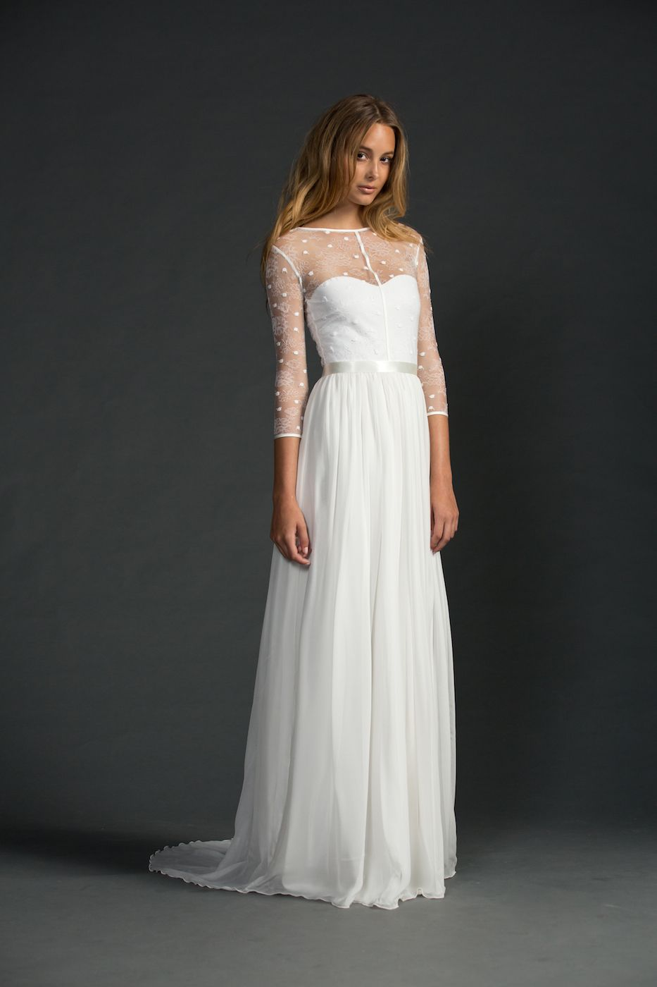 Edita | Grace Loves Lace beautiful lace wedding gown! Perfect for a ...
