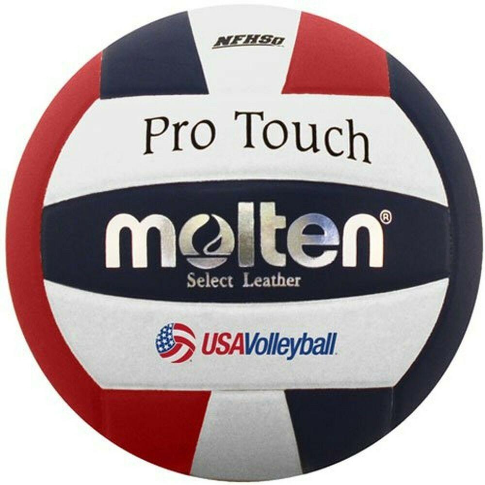 Advertisement Ebay Molten Pro Touch Volleyball Red White Blue Volleyball Volleyballs Molten Volleyball