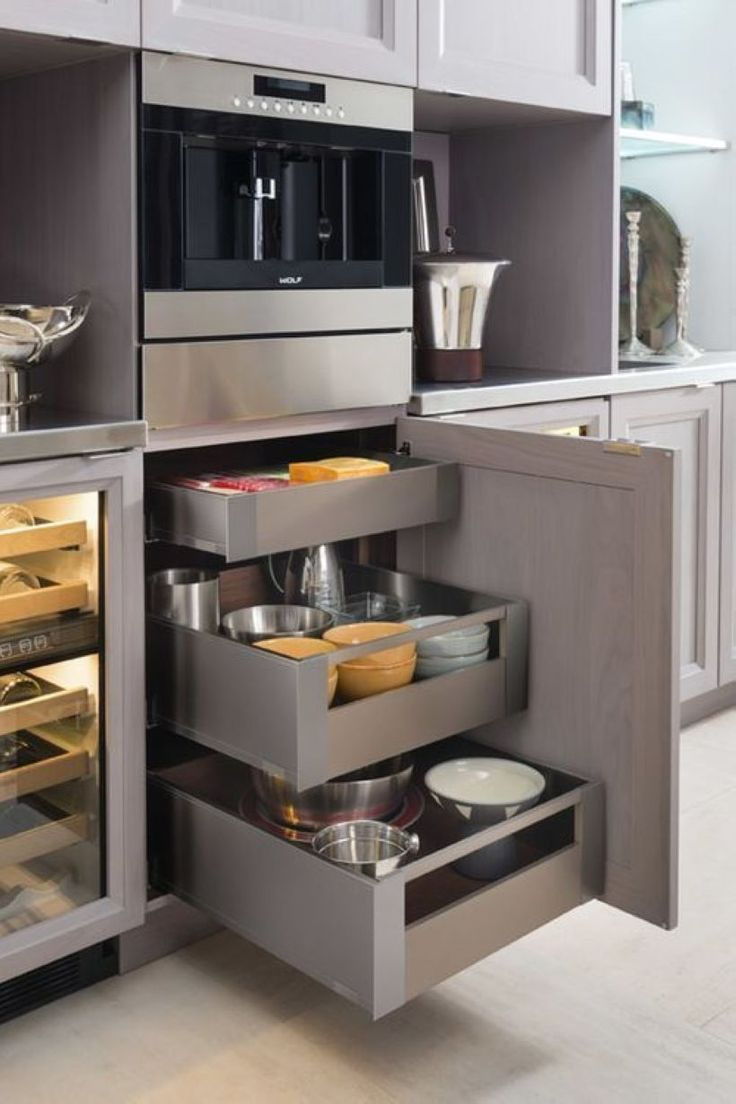 Breathtaking 12 Clever Modern Kitchen Cabinet Take Some for Your ...