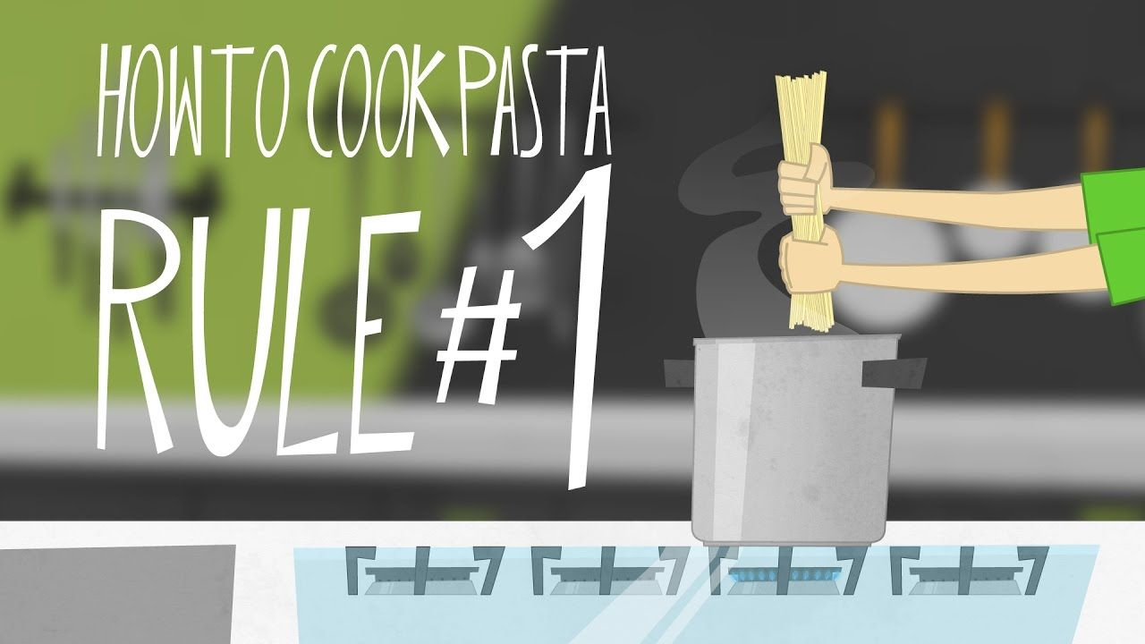 Animation cooks tipstricks howto cook pasta rule1