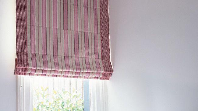 Como hacer cortinas romanas Pinterest Cortinas romanas, Como