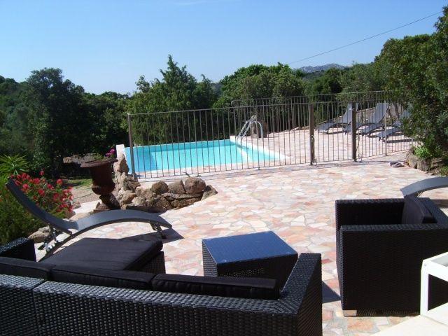 Location vacances Villa Piscine Privé Plage, 20144 SAINTE-LUCIE-DE - location saisonniere avec piscine privee