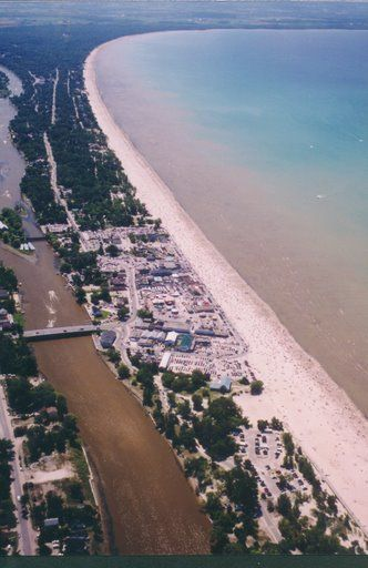 Wasaga Beach Ontario Longest Freshwater In The World