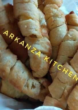 Resep Molen Renyah Oleh Arkanza Kitchen Resep Di 2020 Roti Hot Dog Resep Resep Masakan Indonesia