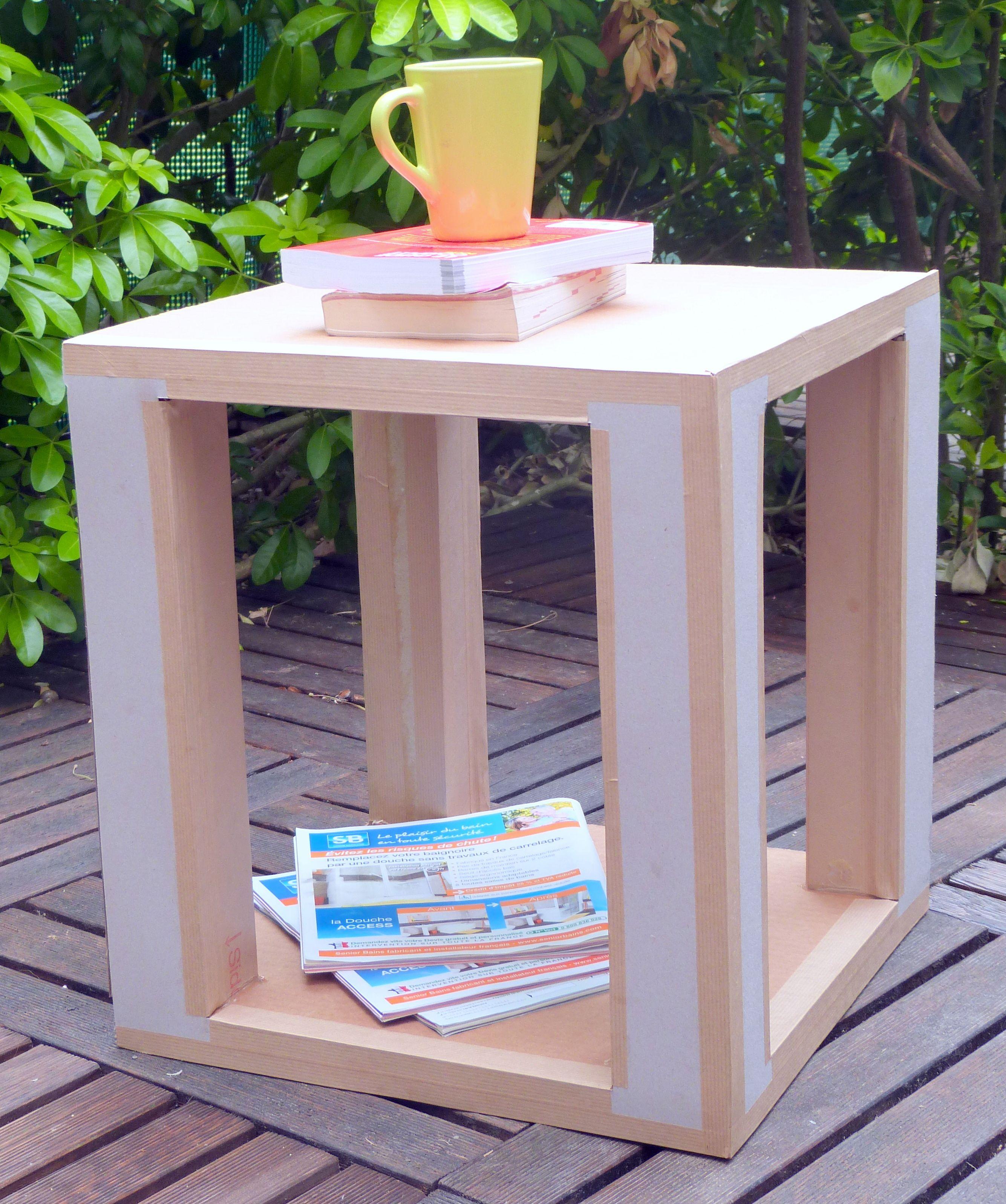 Atelier Bout De Canape En Carton Creativanantes 2015 Bout De Canape Carton Meubles En Carton