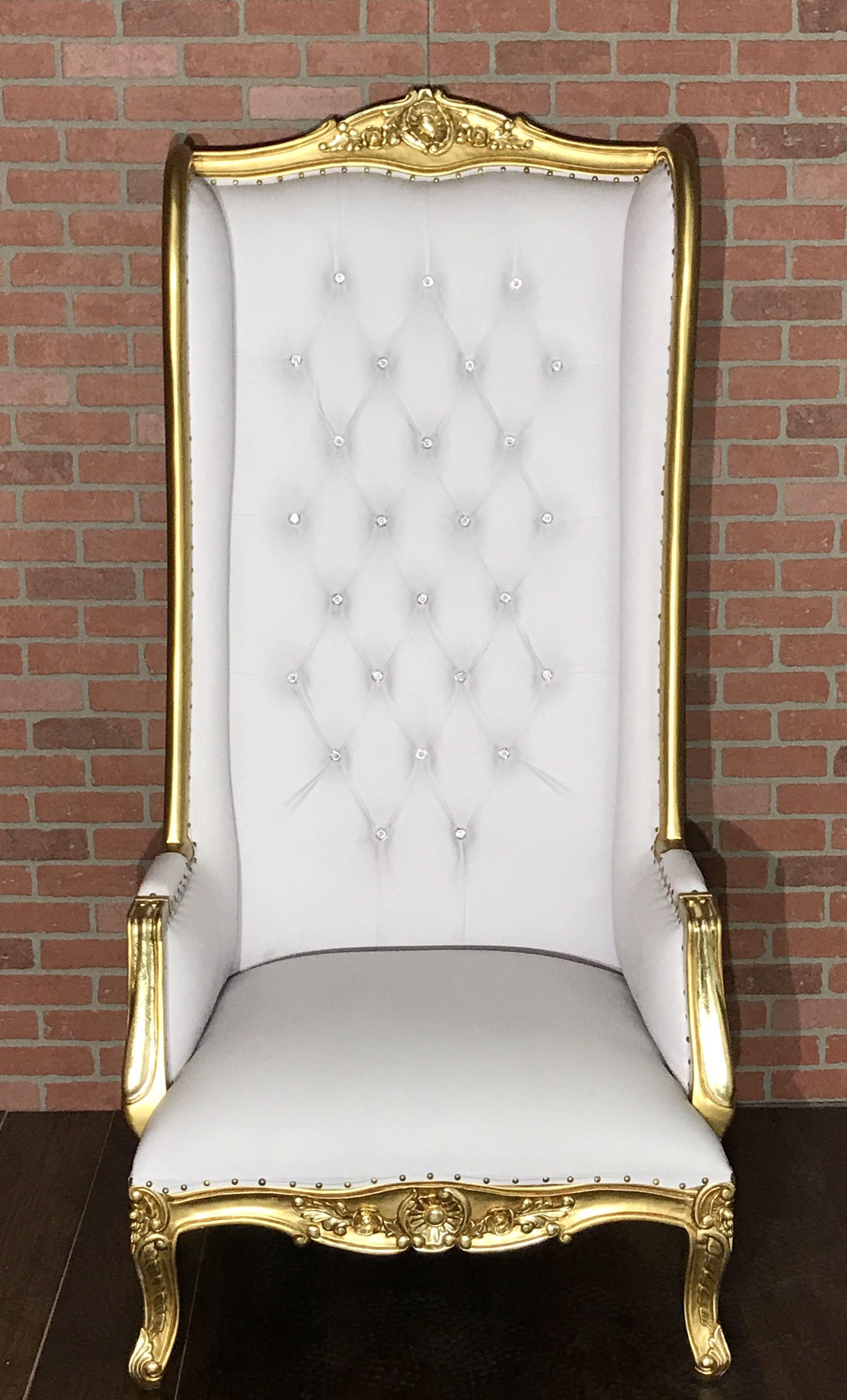 2018 model absolom roche allete chair goldwhite