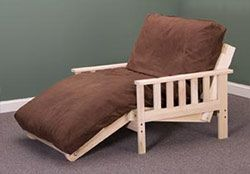 Mission Lounger Twin Size Futon Package