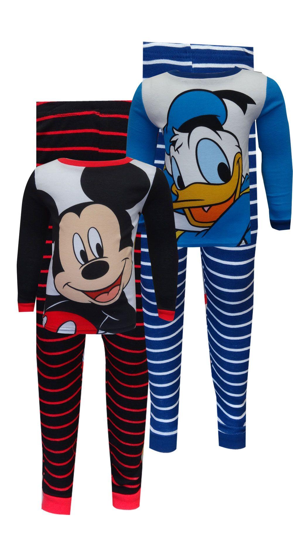 Boys Kids Donald Duck,Pyjamas Shorts Nightwear,1.5-3Years Birthday Gift