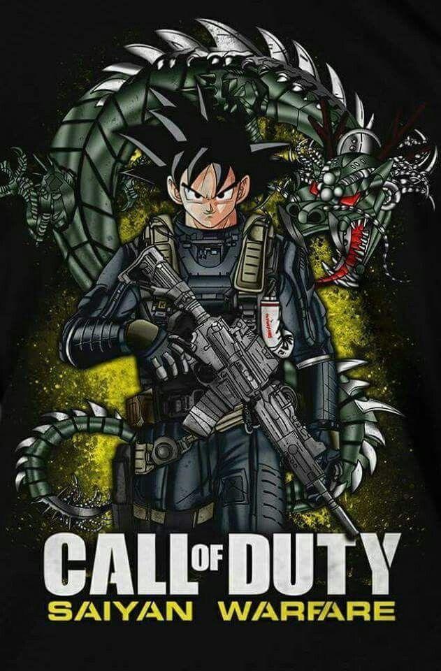 Call Of Duty Saiyan Warfare Anime Dragon Ball Super Dragon Ball Artwork Dragon Ball Art