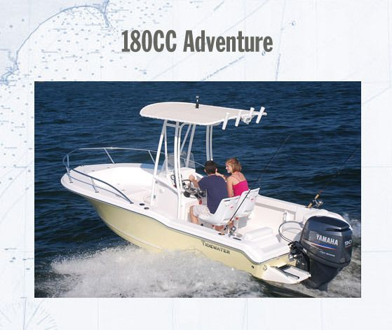 Tidewater 180cc Adventure - this would be great on the bay