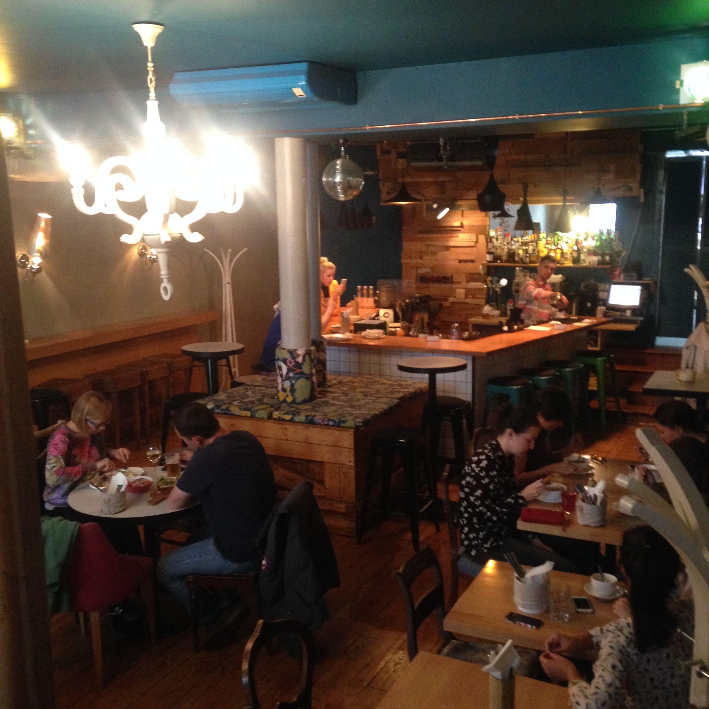 общий вид зала кафе общество чистых тарелок