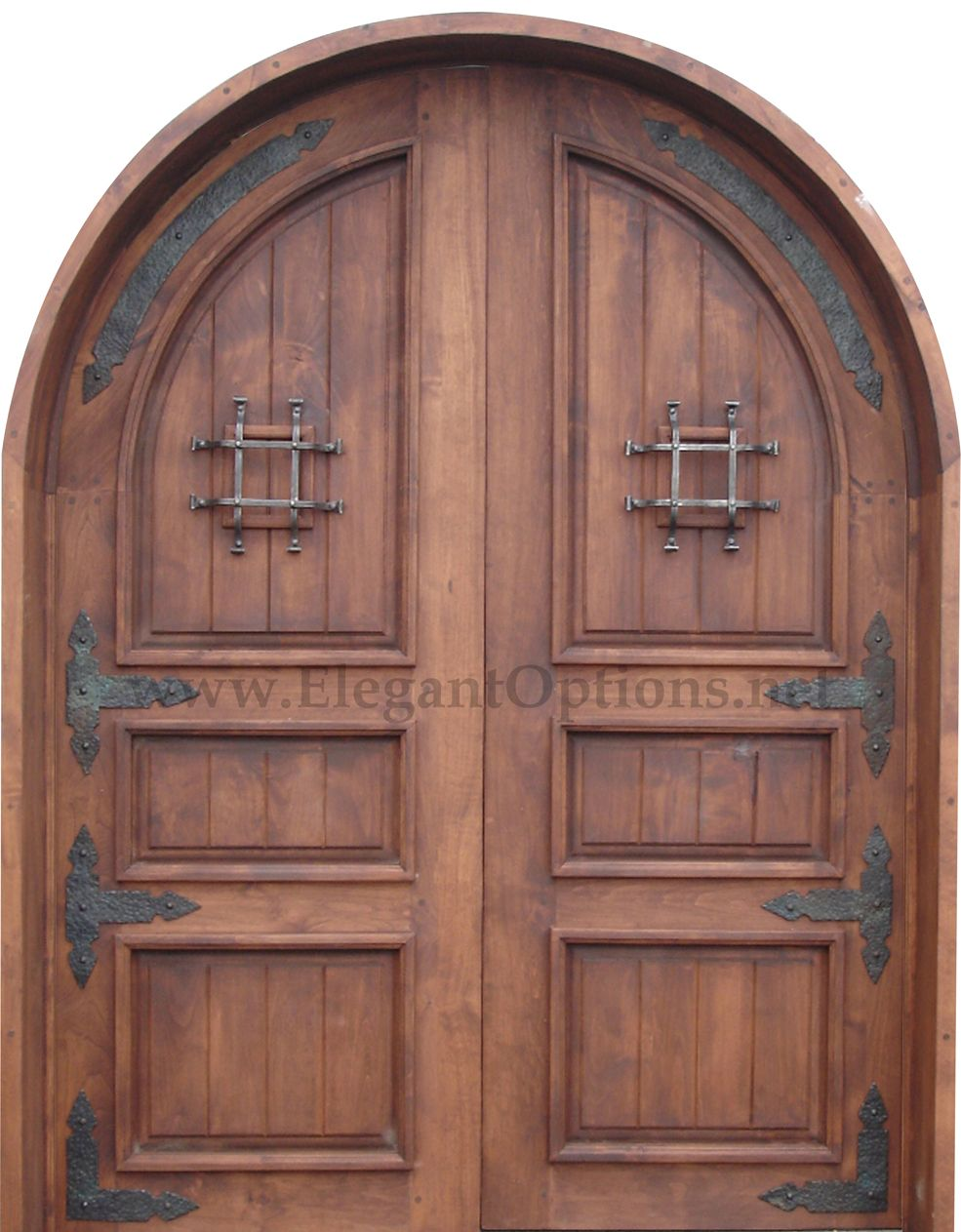 Spanish Style Front Doorybe Something Similar Without The Arch