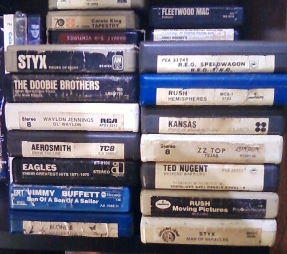 3. Regular folks wouldn't have been able to play their music on 8-track tapes in the '60s and '70s.