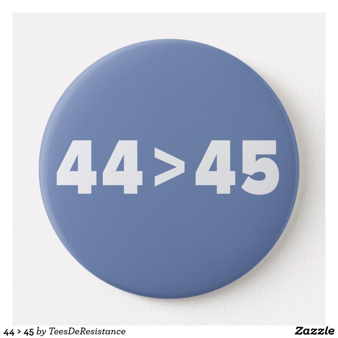 6183d8ed4 44 > 45 BUTTON | Zazzle.com | Tees De Resistance | Buttons, Tees, Sports