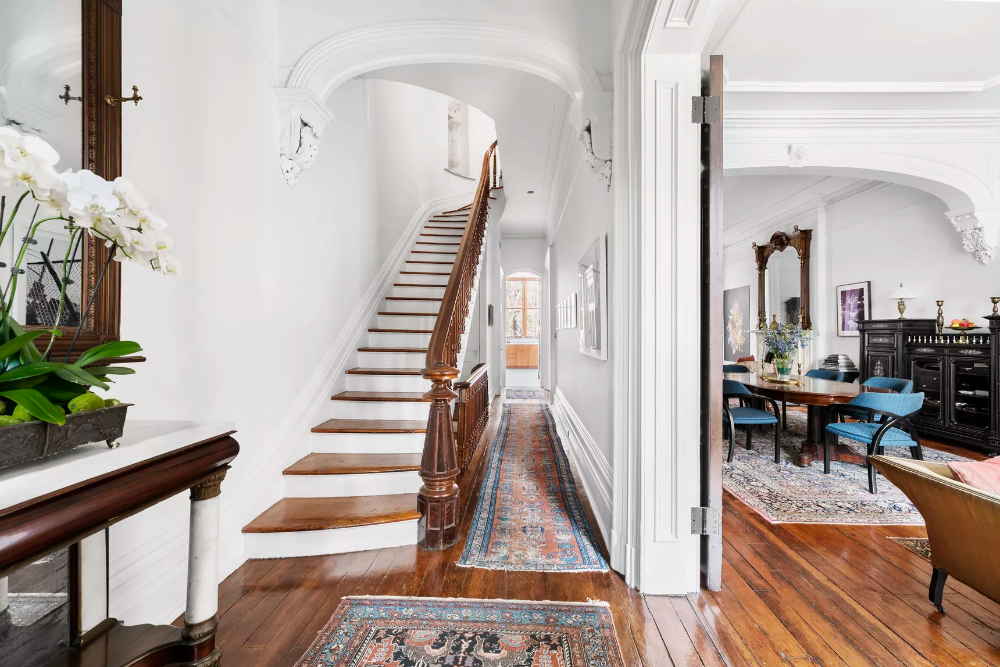 Brooklyn Heights brownstone with rustic attic hideaway wants $11.75M