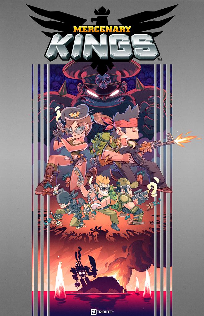 Mercenary Kings Box Art by boutain on deviantART