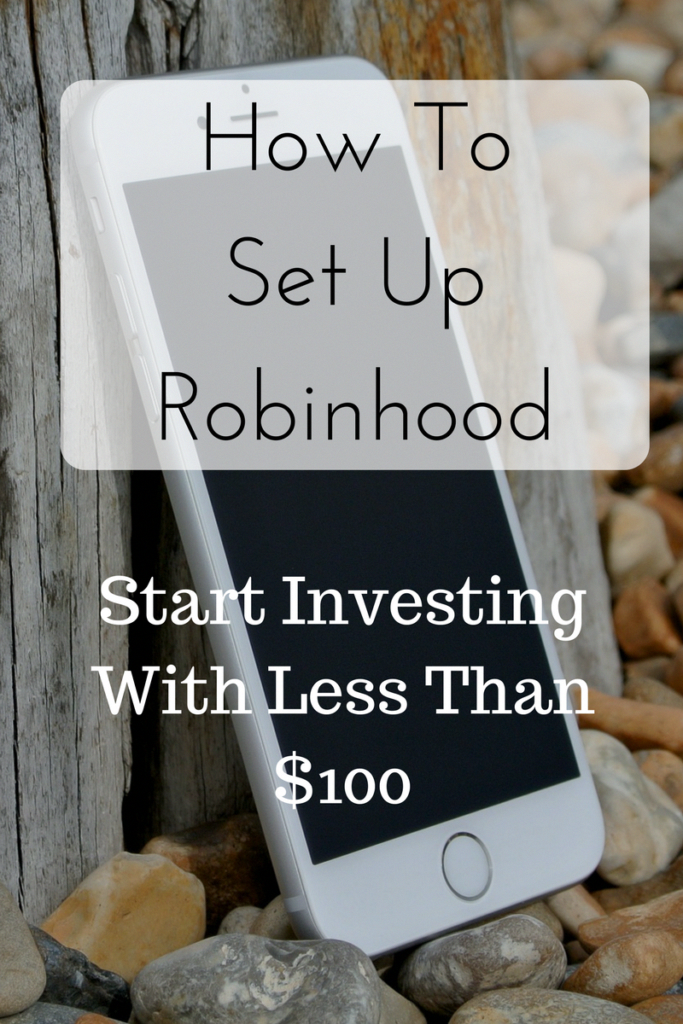 Set up a Robinhood account with this step by step guide for beginners in investing. #investing #stock #market #makemoneyonline #money #investingforbeginners #investment #investment #for #beginners