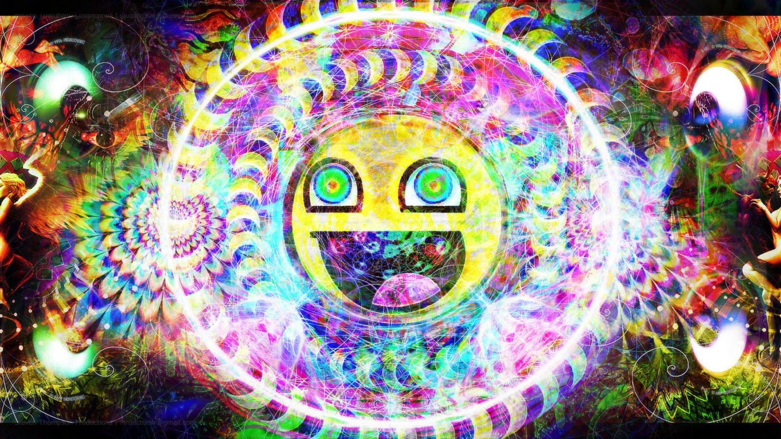 Sick Trippy Backgrounds Group 1600×900 Tripped Out