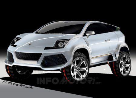 Lamborghini suv concept  못생김