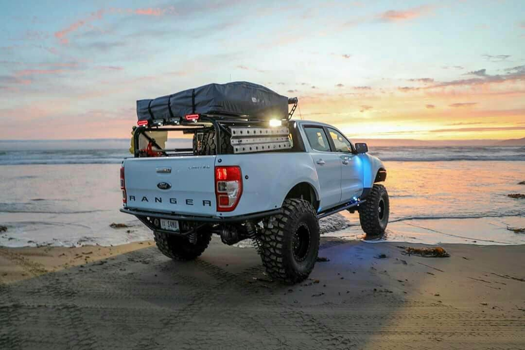 Lifted Ford Ranger New Generation Truck On 35 Inch Tires 2019 Ford Ranger Ford Ranger Ford Ranger Lifted