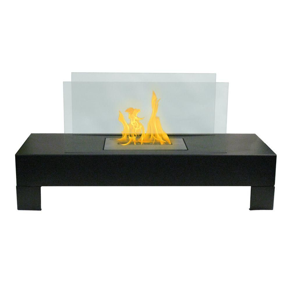 Gramercy 32 in vent free ethanol fireplace in blacktempered anywhere fireplace gramercy 32 in vent free ethanol fireplace in blacktempered glass geotapseo Image collections
