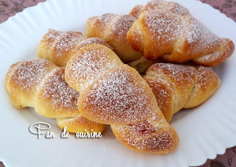 Cornets briochés-pâte à brioche japonaise-