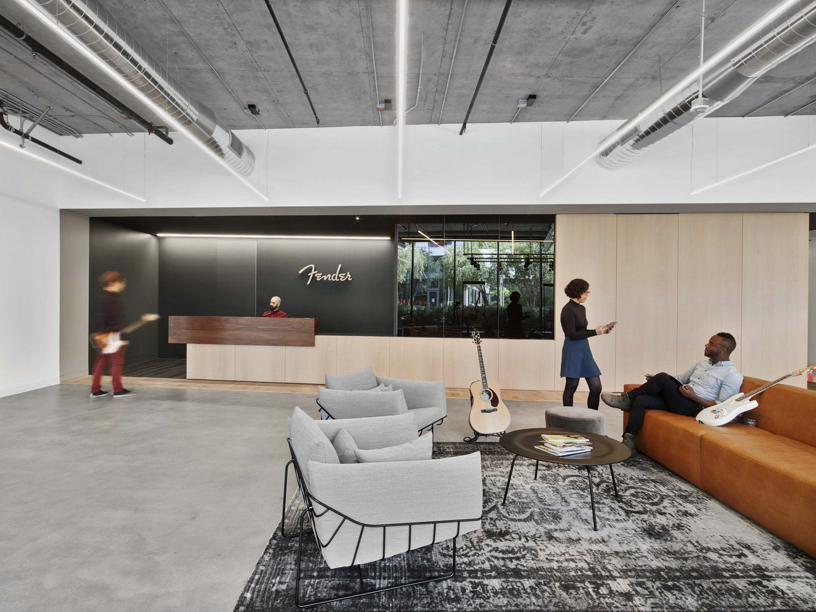 Fender Offices Los Angeles Office Snapshots Cheap Office Furniture Office Reception Design Office Interiors