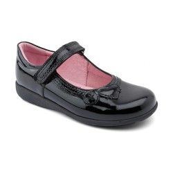 Black Patent Girls Shoes