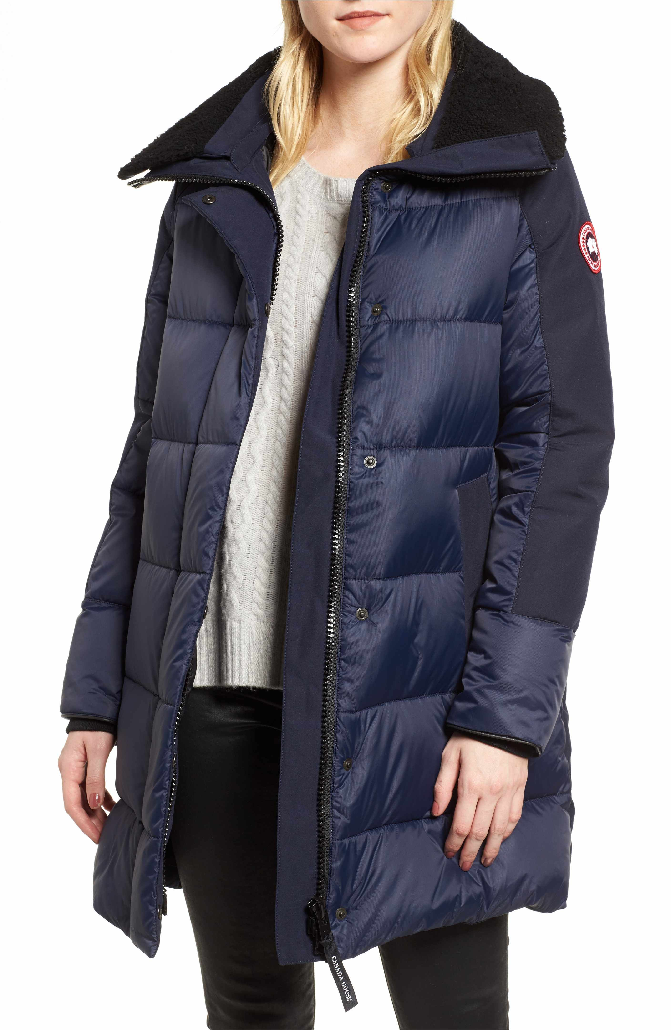 Main Image - Canada Goose Altona Water Resistant 750-Fill Power Down Parka with Genuine Shearling Collar