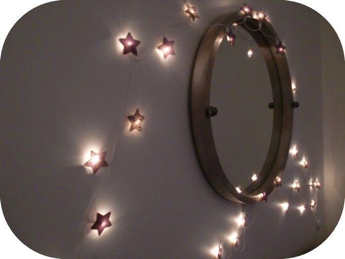 Guirlande lumineuse Home Pinterest Upcycling - guirlande lumineuse pour chambre bebe