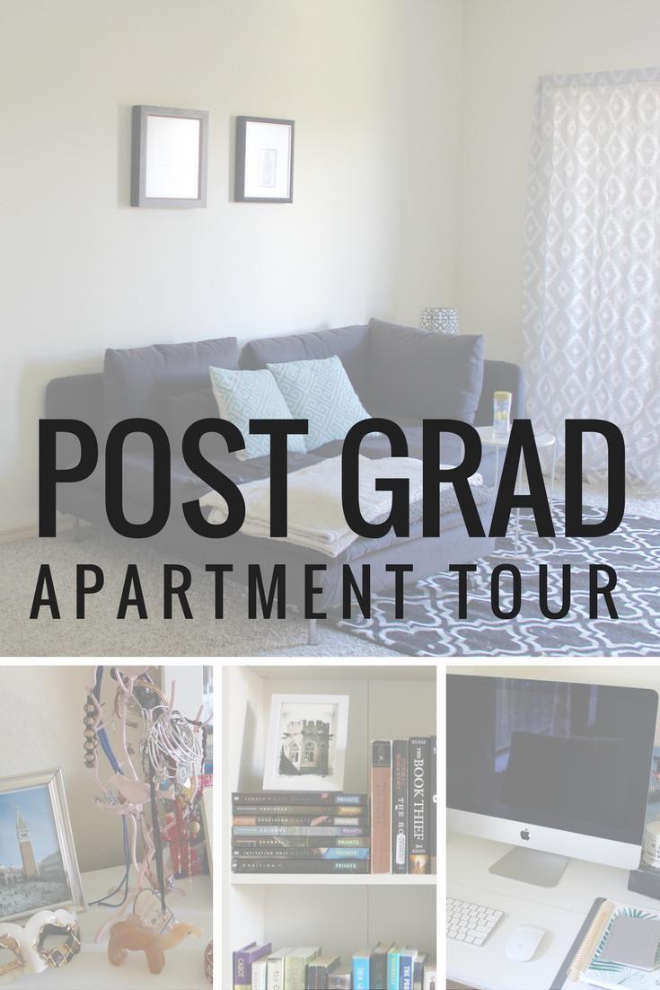 Post-Grad Apartment Tour | Student apartment decor ...